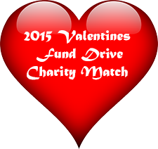 2015 Valentines Day Charity Match button